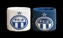 Schweißband FC Zürich, 2er Set - 8 x 9 cm