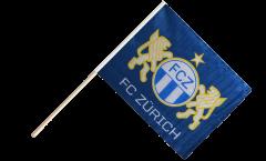 Stockflagge FC Zürich - 60 x 75 cm