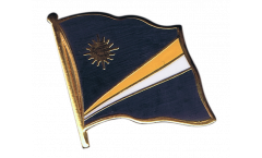 Flaggen-Pin Marshall Inseln - 2 x 2 cm
