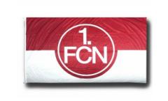 Hissflagge 1. FC Nürnberg Logo rot-weiß - 150 x 250 cm