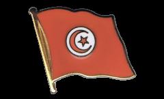 Flaggen-Pin Tunesien - 2 x 2 cm
