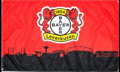 Hissflagge Bayer 04 Leverkusen - 90 x 150 cm
