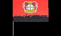 Stockflagge Bayer 04 Leverkusen - 60 x 90 cm