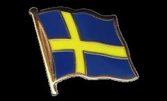 Flaggen-Pin Schweden - 2 x 2 cm