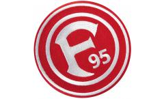 Aufnäher Fortuna Düsseldorf Logo - 8 x 8 cm