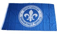 Hissflagge SV Darmstadt 98 Logo - 90 x 150 cm
