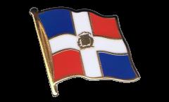 Flaggen-Pin Dominikanische Republik - 2 x 2 cm