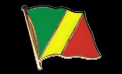 Flaggen-Pin Kongo - 2 x 2 cm