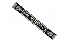 Schal Real Madrid Black - 17 x 150 cm