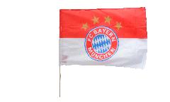 Stockflagge FC Bayern München Logo - 60 x 90 cm
