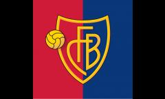 Flagge FC Basel - 150 x 150 cm