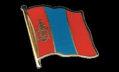 Flaggen-Pin Mongolei - 2 x 2 cm