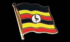 Flaggen-Pin Uganda - 2 x 2 cm