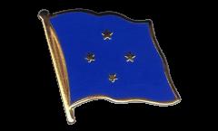 Flaggen-Pin Mikronesien - 2 x 2 cm