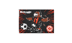 Flagge Eintracht Frankfurt Attila - 40 x 60 cm