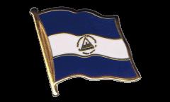 Flaggen-Pin Nicaragua - 2 x 2 cm