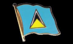 Flaggen-Pin St. Lucia - 2 x 2 cm
