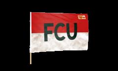 Stockflagge 1.FC Union Berlin FCU - 60 x 90 cm