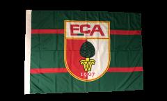 Flagge mit Hohlsaum FC Augsburg  - 100 x 140 cm