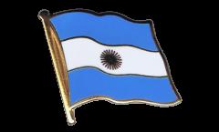 Flaggen-Pin Argentinien - 2 x 2 cm