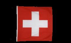 Flagge Schweiz - 90 x 90 cm