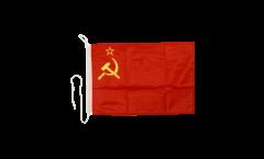 Bootsfahne UDSSR Sowjetunion - 30 x 40 cm