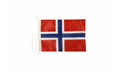 Bootsfahne Norwegen - 30 x 40 cm
