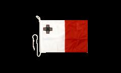 Bootsfahne Malta - 30 x 40 cm