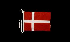 Bootsfahne Dänemark - 30 x 40 cm