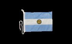 Bootsfahne Argentinien - 30 x 40 cm
