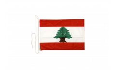 Bootsfahne Libanon - 30 x 40 cm