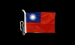 Bootsfahne Taiwan - 30 x 40 cm