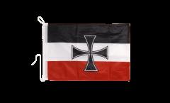 Bootsfahne Deutsches Reich Gösch-Naval Jack 1871-1919 - 30 x 40 cm