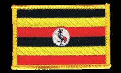 Aufnäher Uganda - 8 x 6 cm
