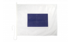 Signalflagge Sierra (S) - 75 x 90 cm