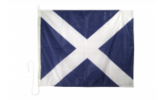 Signalflagge Mike (M) - 75 x 90 cm