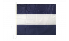 Signalflagge Juliet (J) - 75 x 90 cm