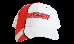 Cap / Kappe Österreich, weiß-rot, flag