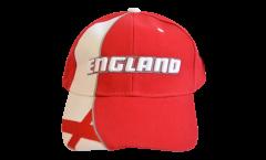 Cap / Kappe England St. George, rot-weiß, flag