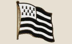 Flaggen-Pin Frankreich Bretagne - 2 x 2 cm