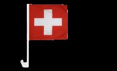 Autofahne Schweiz - 30 x 30 cm