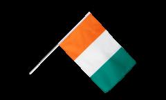 Stockflagge Elfenbeinküste - 60 x 90 cm