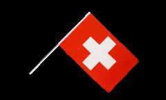 Stockflagge Schweiz - 60 x 90 cm