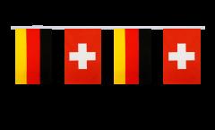 Freundschaftskette Deutschland - Schweiz - 15 x 22 cm