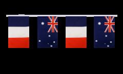 Freundschaftskette Frankreich - Australien - 15 x 22 cm