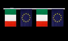 Freundschaftskette Italien - Europäische Union EU - 15 x 22 cm