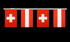 Freundschaftskette Schweiz - Österreich - 15 x 22 cm