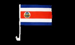 Autofahne Costa Rica - 30 x 40 cm