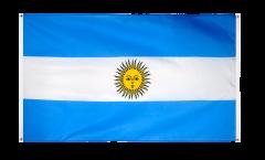 Balkonflagge Argentinien - 90 x 150 cm