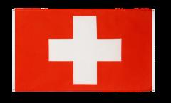 Balkonflagge Schweiz - 90 x 150 cm